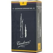 Caja de cañas saxofón sopranino VANDOREN modelo TRADICIONAL
