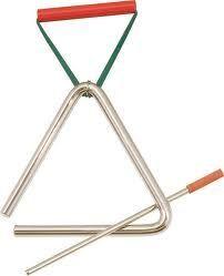 Triángulo de 10 cm. STUDIO 49 modelo T 10