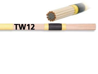 Par de rods VIC FIRTH modelo TW 12