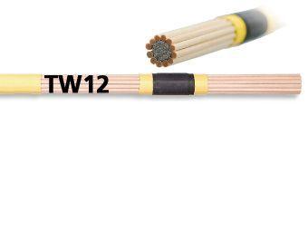 Par de rods VIC FIRTH modelo TW 12