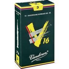 Caja de cañas saxofón soprano VANDOREN modelo V16
