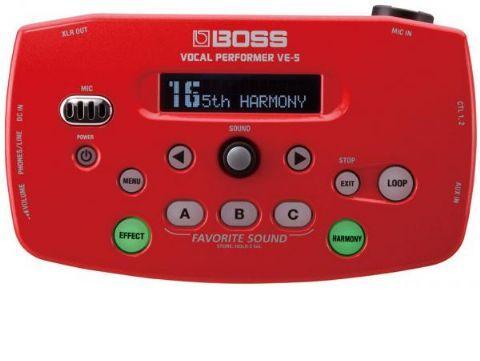 Procesador para voz BOSS modelo VE-5-RD