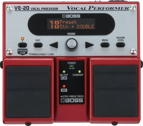 Pedal doble vocal BOSS modelo VE-20