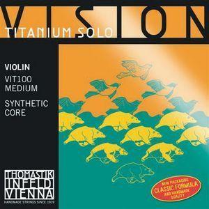 Juego cuerdas violin VISION TITANIUM SOLO modelo VIT100