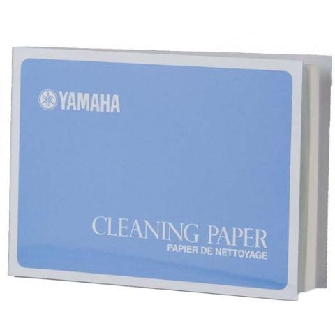 Papel limpiador YAMAHA modelo CLEANING PAPER CP