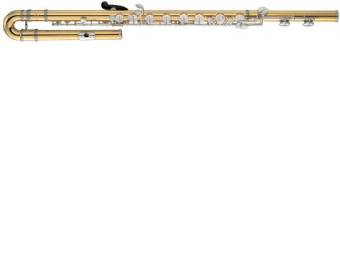 Flauta Bajo YAMAHA modelo YFL B 441