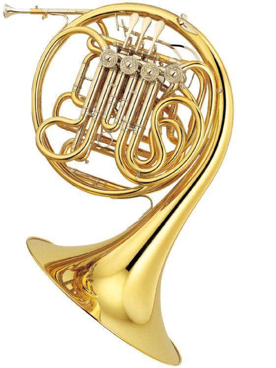 Trompa YAMAHA modelo YHR 891 GD