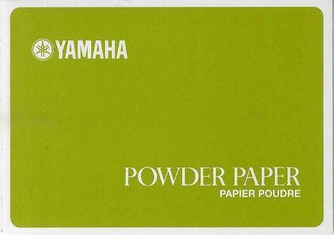 Papel secante YAMAHA modelo POWDER PAPER