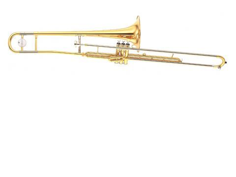 Trombon de pistones en Sib YAMAHA modelo YSL 354 V