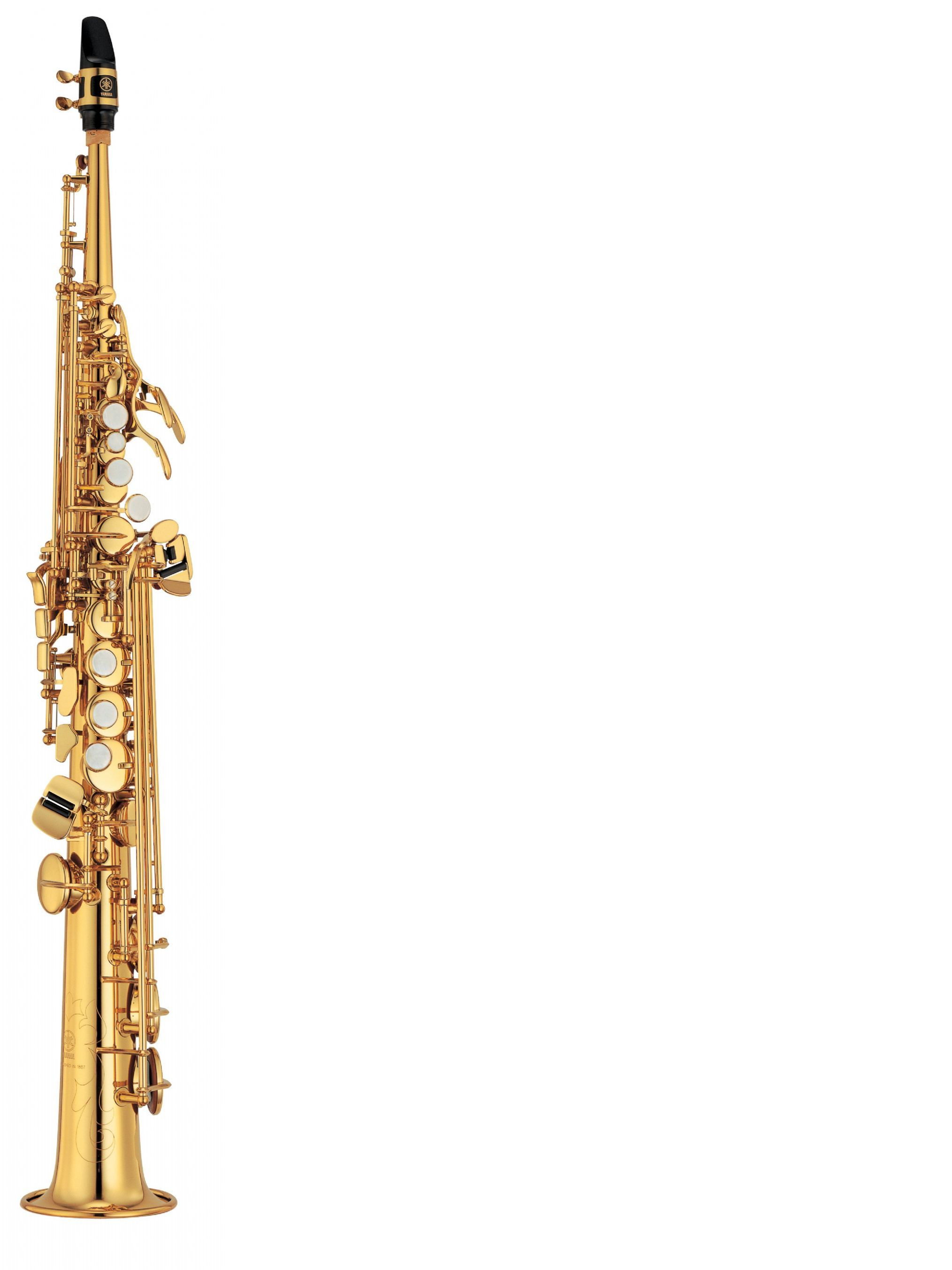 Saxofón soprano YAMAHA modelo YSS 475 II
