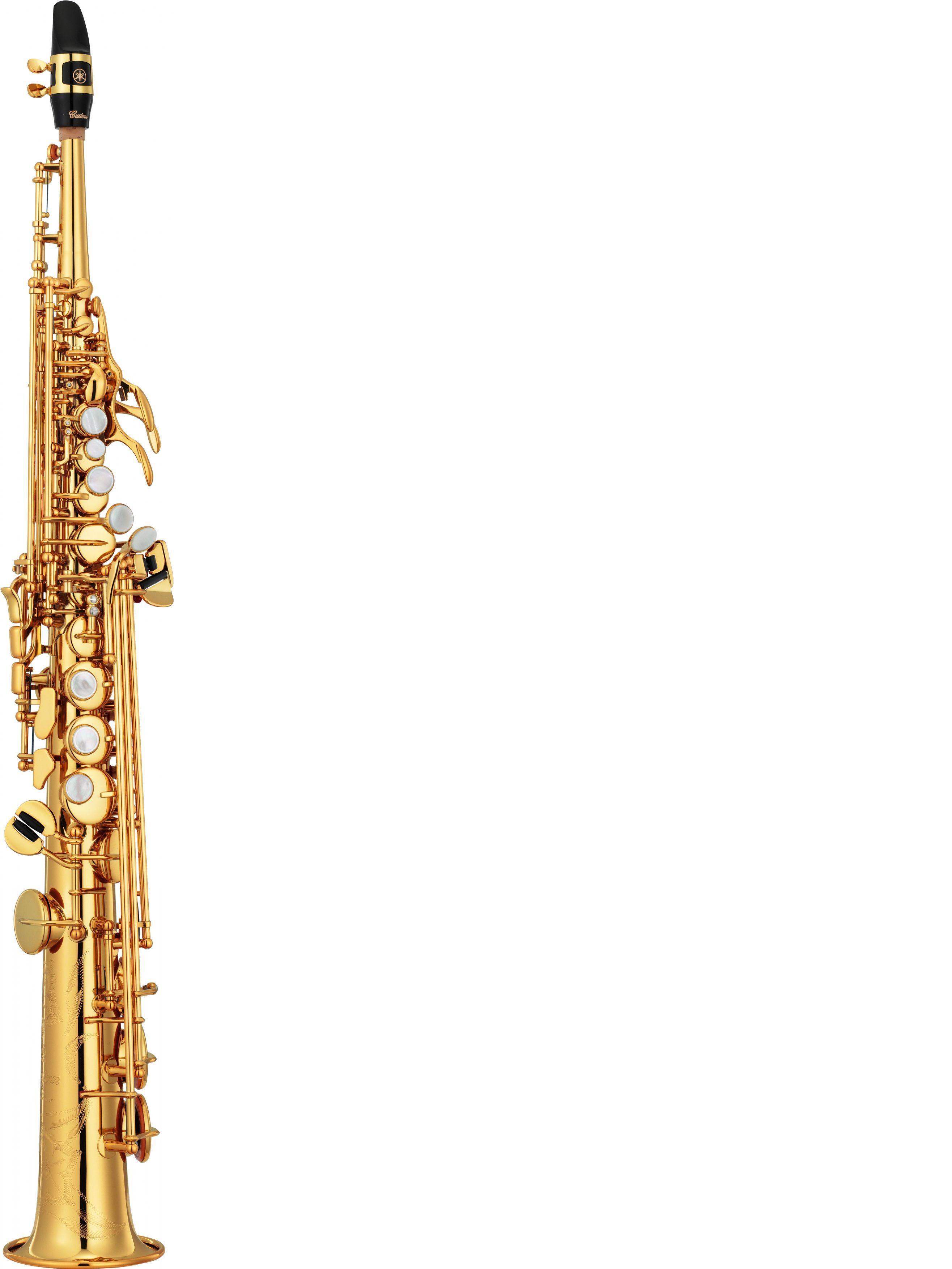 Saxofón soprano YAMAHA modelo YSS 82 Z