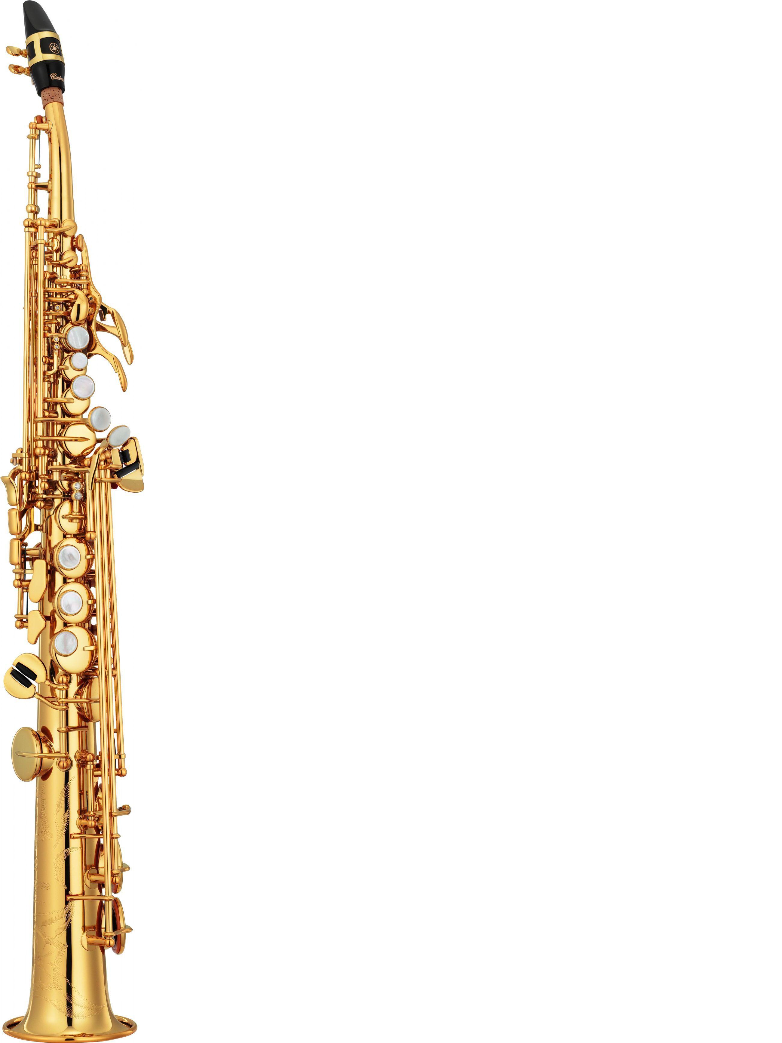 Saxofón soprano YAMAHA modelo YSS 82 ZR