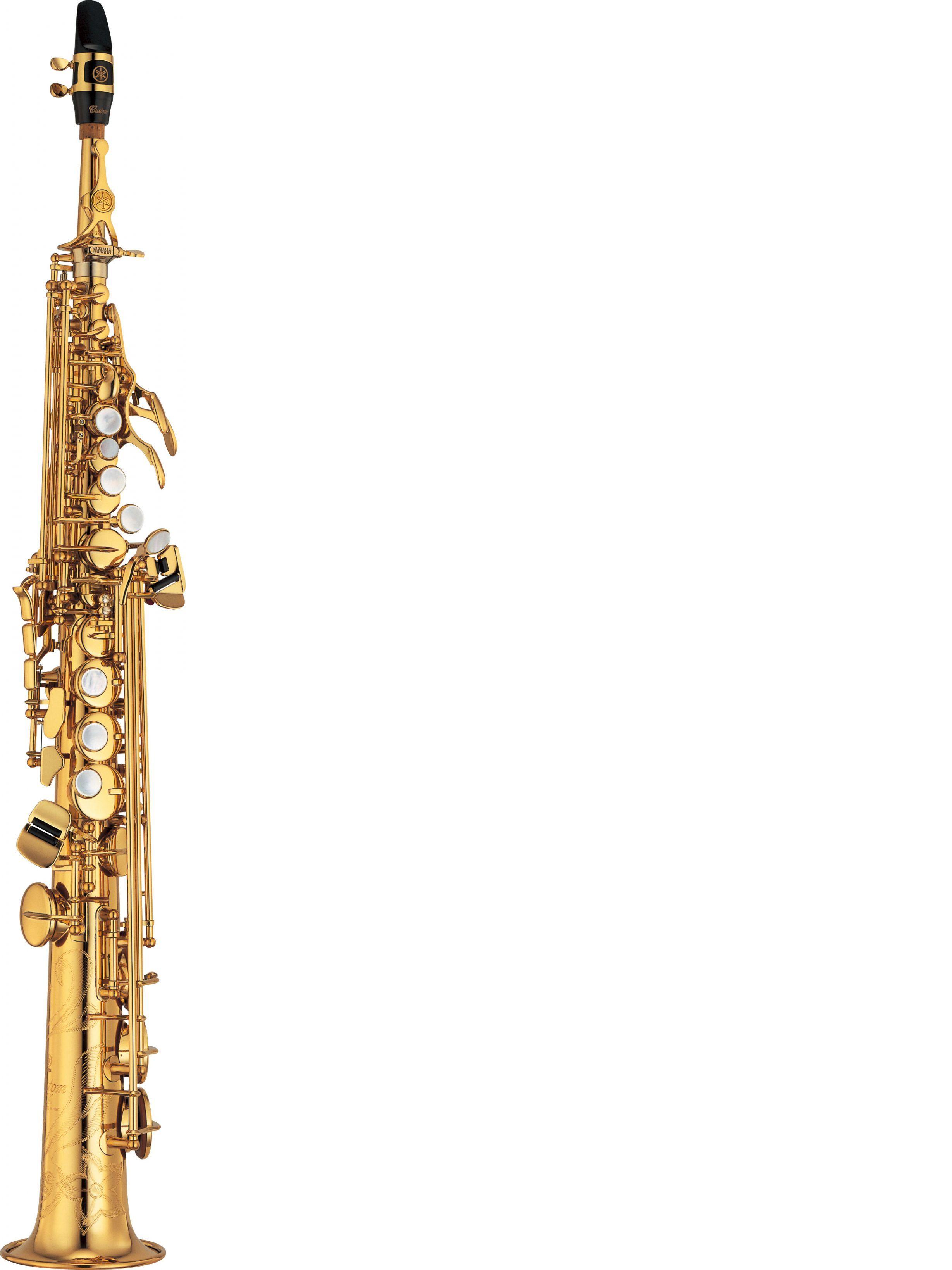 Saxofón soprano YAMAHA modelo YSS 875 EXB
