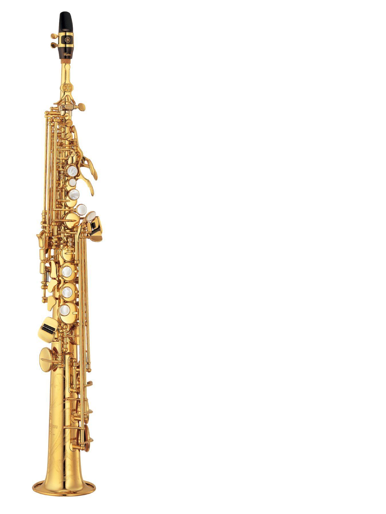 Saxofón soprano YAMAHA modelo YSS 875 EXHGS