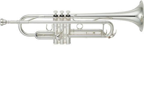 Trompeta Sib Yamaha Ytr Gs Plateada