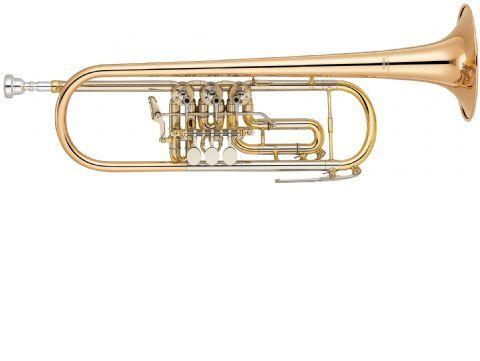 Trompeta de cilindros YAMAHA modelo YTR 436G