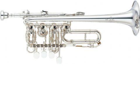 Trompeta piccolo YAMAHA modelo YTR 988